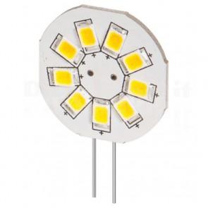 Lampada 9 LED SMD G4 5050 1,5W 120 Lumen Bianco Caldo, A++