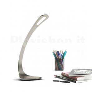 Lampada a LED da Tavolo con Regolazione Luminosità 8W Silver