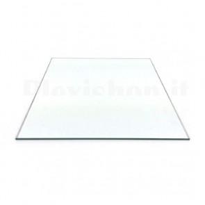 Lastra di vetro borosilicato per stampanti 3D, 213 x 200 x 3mm