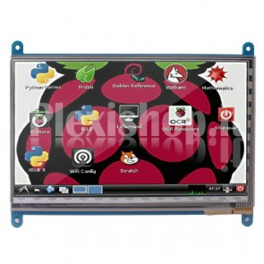 "LCD TFT touchscreen 7"" HDMI per Raspberry Pi"