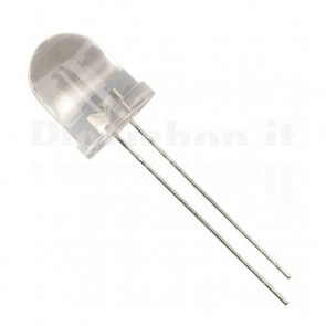 Led 10mm Rosso - Lente Clear