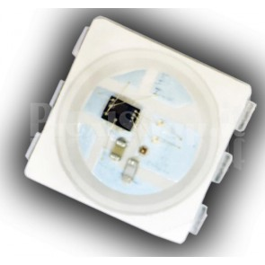 Led RGB 5Vdc WS2813 con controller integrato, package 5050