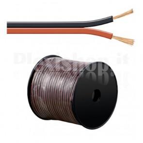 Cavo Audio per diffusori acustici Nero/rosso 2,5 mm²