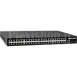 Managed Switch 48 porte Gigabit PoE+ Layer2+ 10 GbE Uplink