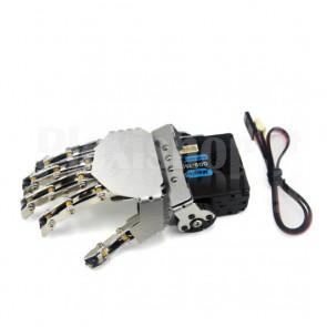 Mano destra a 5 dita per robot umanoide con servo, 1DOF