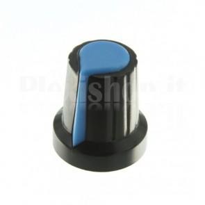 Manopola per potenziometro 15x17, blu