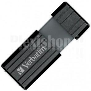 Memoria USB 2.0 PinStripe da 16Gb Colore Nero