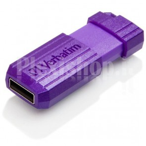 Memoria USB 2.0 PinStripe da 16Gb Colore Viola