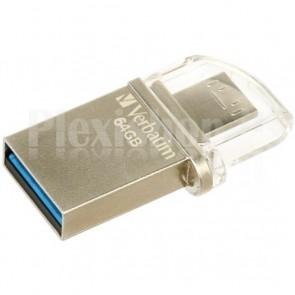 Memoria USB 3.0 Verbatim OTG 64GB