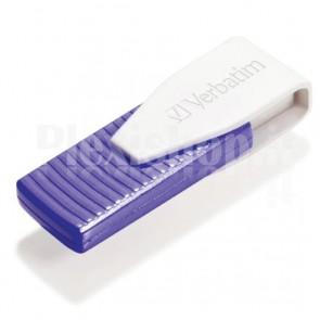 Memoria USB Verbatim Swivel 64GB Viola