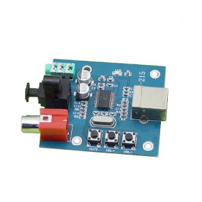 Micro DAC stereo ottico 16bit 48KHz, PCM2704