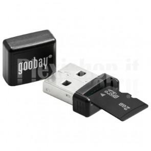 Micro lettore di memorie USB 2.0