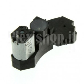 Electric micro motor SANYO with gear box speed reduction and optical encoder, 3.5VDC 100rpm