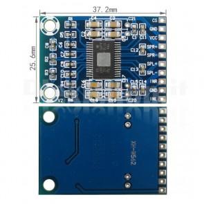Mini stereo amplifier XH-M562, 50+50W