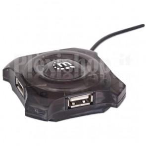 Mini Hub USB 4 porte
