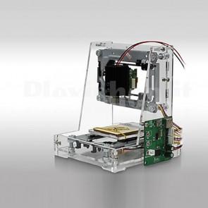 Mini incisore CNC DIY in PMMA completo di laser viola da 200mW