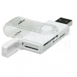 Mini Lettore/scrittore di card USB 2.0, 24 in 1