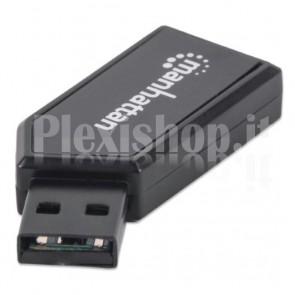 Mini Lettore di Memorie USB 2.0 card-reader 24in1
