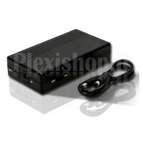 mini UPS per router modem e dispositivi a 12V