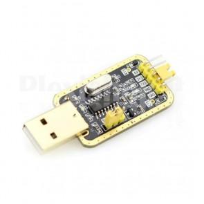 Convertitore USB RS232 TTL con CH340G