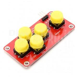 Modulo analogico per Arduino con 5 pulsanti