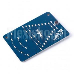 Modulo con sensore di suono e indicatore a LED