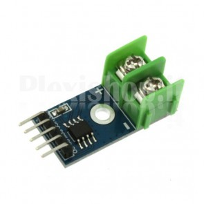 Module with thermocouple temperature sensor K type with MAX6675
