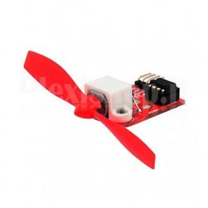 Modulo con ventilatore ad elica per robot antincendio