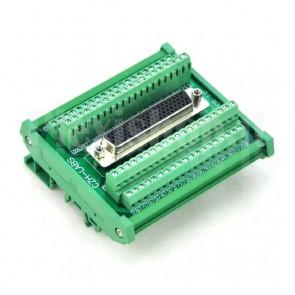 Modulo DIN Connettore DB78 Femmina