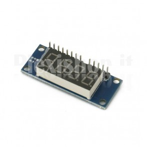4 digit display module