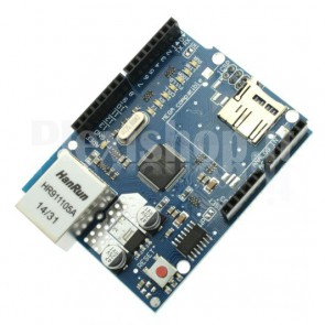 W5100 ethernet module compatible with Arduino UNO / MEGA