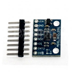 GY-346 module, 3-axis accelerometer