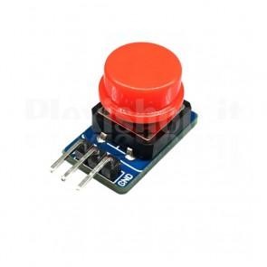 Modulo pulsante TACT con fungo rosso