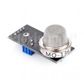 Modulo sensore gas MQ-136 per la rilevazione di Idrogeno, per Arduino, Raspberry Pi e MCU