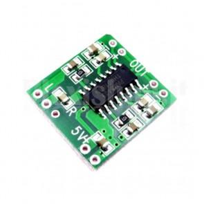 Amplificatore audio miniaturizzato classe D, 5VDC, 3W+3W