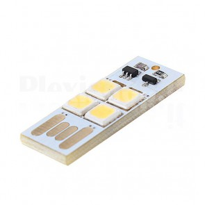 Modulo USB Soft Touch a 4 LED