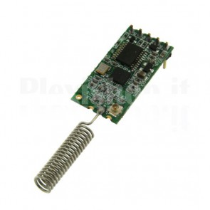CC1101 433MHz module for RS232 serial wireless connections between devices
