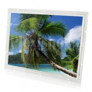 """Monitor LCD LED 14"""" da incasso ad alta risoluzione HDMI, VGA, AV, BNC"""