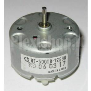 Motore elettrico a basso profilo, 2700rpm 6Vcc, RF-500TB-12560-R