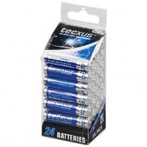 Multipack 24 Batterie Mini Stilo AAA 1,5V Alacaline LR03