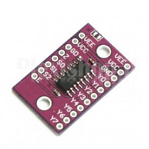 Multiplexer a 8 canali per Arduino, 74HC4051