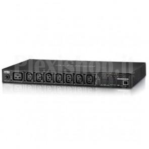 Multipresa Rack PDU 7xC13+C19 Misurazione PDU, Controllo Presa PE6208G