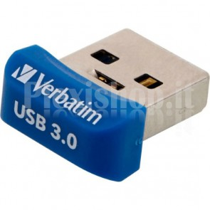 NANO Memoria USB 16GB Blu
