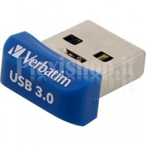 NANO Memoria USB 32GB Blu