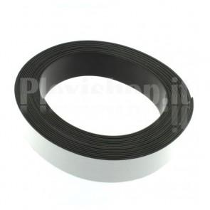 Nastro magnetico adesivizzato H 25,4 mm