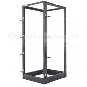 Open Frame Rack 19'' 4 Montanti 48U con profondità regolabile