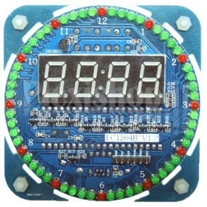 KIT (DIY - Fai da te) orologio digitale elettronico a 5V, DS1302