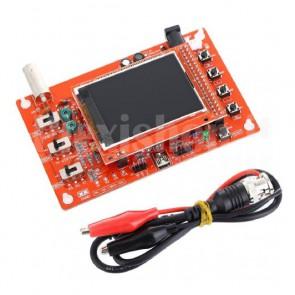 """Oscilloscopio portatile DSO138 a un canale con TFT a colori da 2.4"""", 200KHz"""