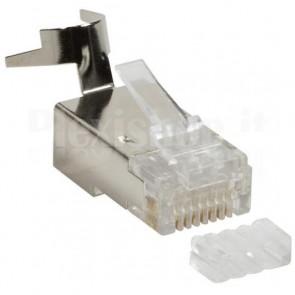 Plug per Cat. 5 e 6 STP con Copriconnettore