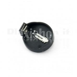 Porta batteria a bottone CR2032